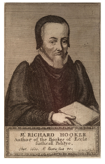 "Richard Hooker, author of ""The Laws of Ecclesiastical Polity""."